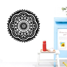 ZOOYOO Believer Home Decor Wall Stickers Indian Mandala Pattern Vinyl Art Wall Decals Murals Bedroom zooyoo believer home decor wall stickers indian mandala pattern vinyl art wall decals murals bedroom
