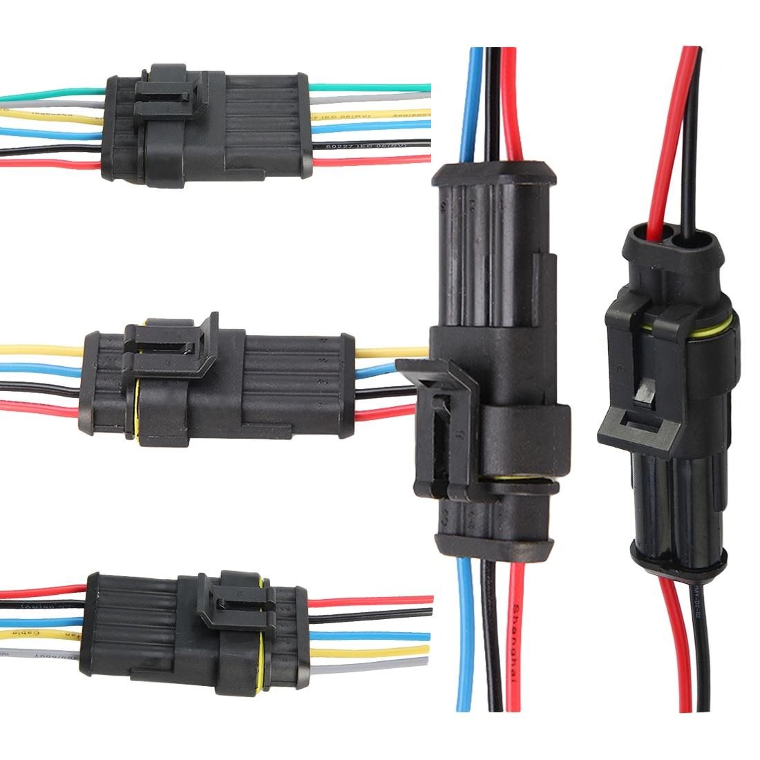 Auto Wire Connector 2 3 4 5 6 Way 2p 3p 4p 5p Auto