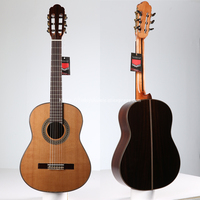 Finlay 36 Handmade Spanish guitar,SOLID Cedar /Rosewood Acoustic guitarras,Classical guitar with Nylon string 580MM big sale