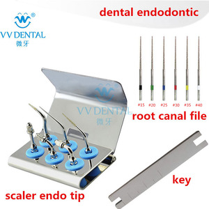 Image 1 - Dental tooth whitening scaler endo tip endodontic ultrasonic tips root canal file fit Woodpecker EMS equipment