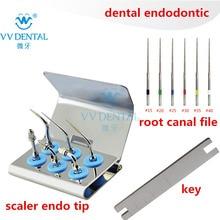 Dentale sbiancamento dei denti scaler endo punta endodonzia ad ultrasuoni punte root canal file fit Picchio EMS attrezzature