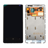 Frame Black LCD Display Touch Screen Digitizer Assembly Replacement For Nokia Lumia 800 Free Shipping