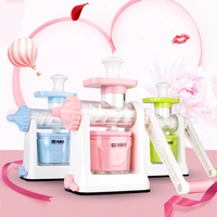 Lekoch Manual Fruit Juicer Home Hand Crusher Fruit Ice Cream Machine Juice Ice Cream Orange Apple