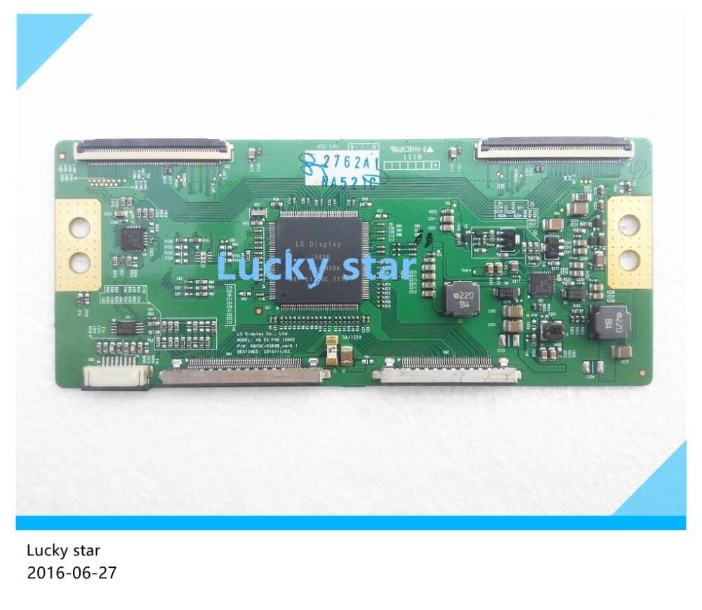 100% tested good working High-quality for original 55E72RD V6 55 FHD 120HZ 6870C-0369B logic board 98% new p5wd2 e board p5wd2 e tested working