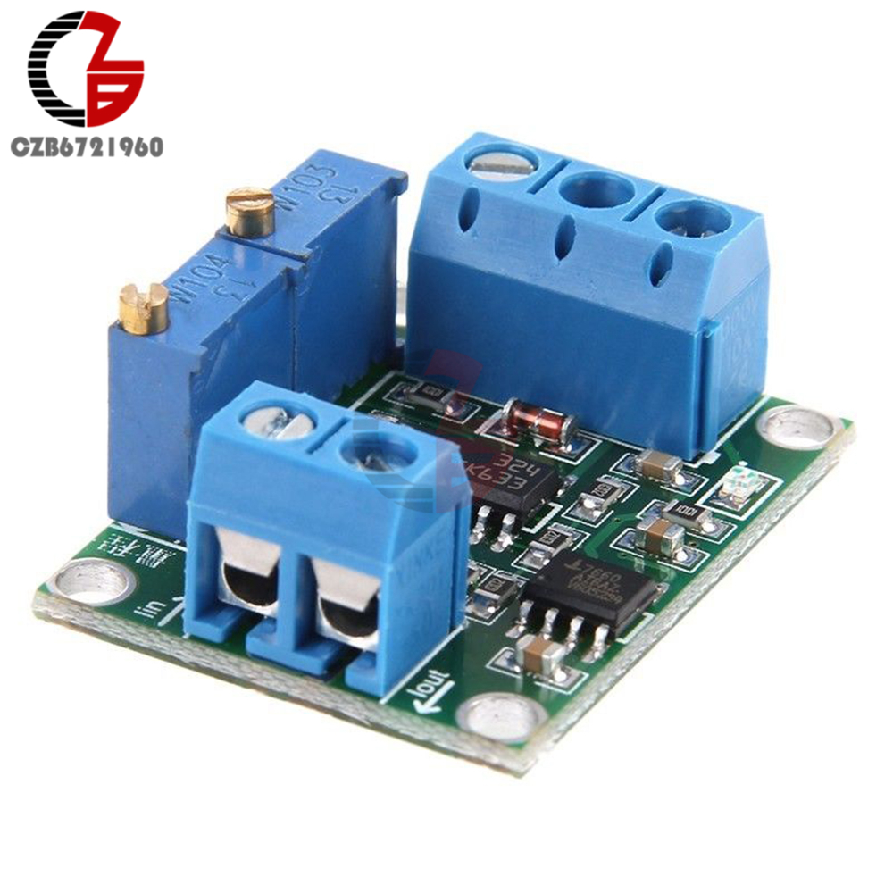 4-20mA to 0-15V 0-5V 0-10V Isolation Current to Voltage Transmitter Signal Converter Transformer Module Board DC 12V 24V DIY