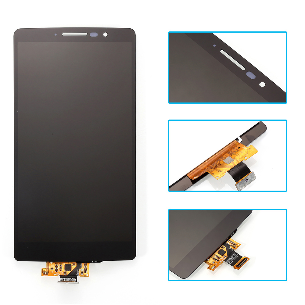 For LG G4 Stylus H540 LCD Display Touch Screen Digitizer Assembly Tempered Film Tools Black Free Shipping In Mobile Phone LCDs From Cellphones