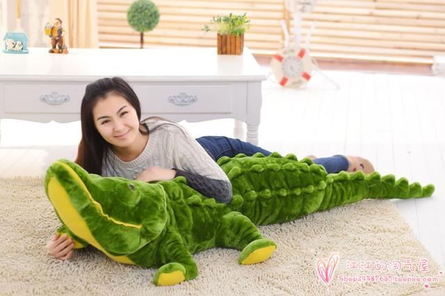 huge 200cm cartoon crocodile soft plush toy sleeping pillow toy Christmas gift h692 lovely giant panda about 70cm plush toy t shirt dress panda doll soft throw pillow christmas birthday gift x023