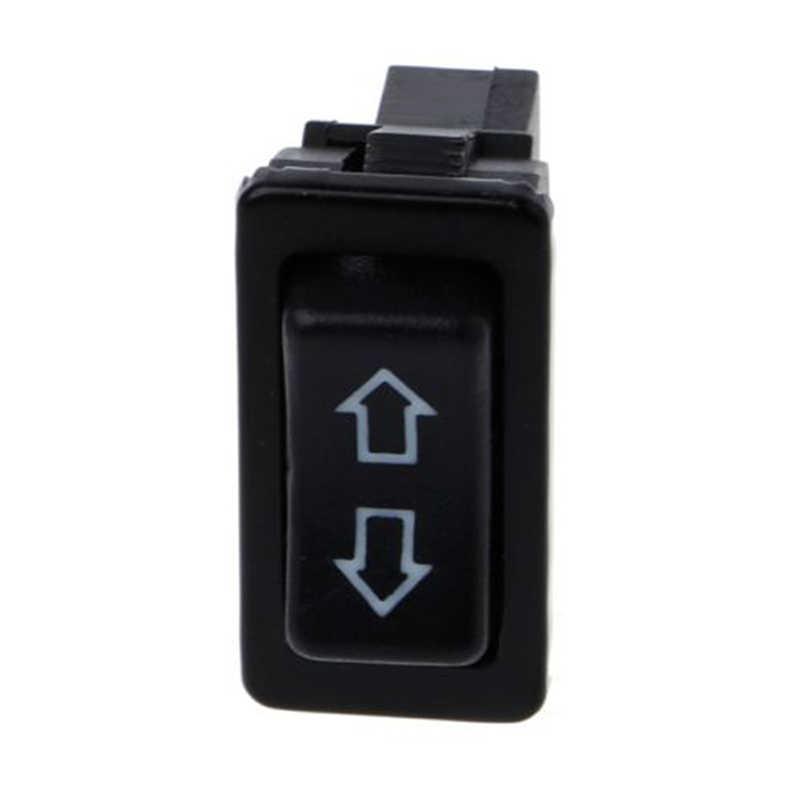 ウィンドウスイッチボタンすべての自動車グリーン電力 led ライトカーボタンスイッチ車アクセサリー