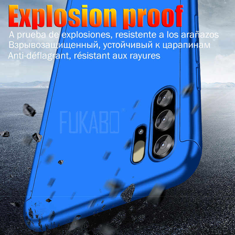 360 Protective case For Huawei P20 Lite P30 Pro P10 Mate 20 10 Lite 20X P Smart 2019 Phone Case For honor 20 8x 9 10 Lite cover
