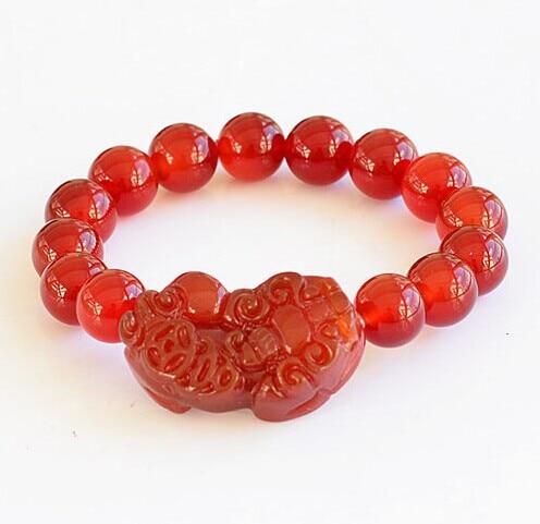 Red agate stones pi yao charm jade bracelets meaning chinese pixiu red agate stones pi yao charm jade bracelets meaning chinese pixiu good lucky carved jade jewelry aloadofball Images