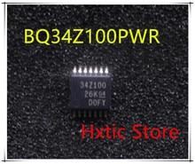 5pcs BQ34Z100PWR 34Z100 BQ34Z100 IC BATT MGMT LIION/LPO4 14TSSOP