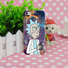 Rick And Morty Transparent Case