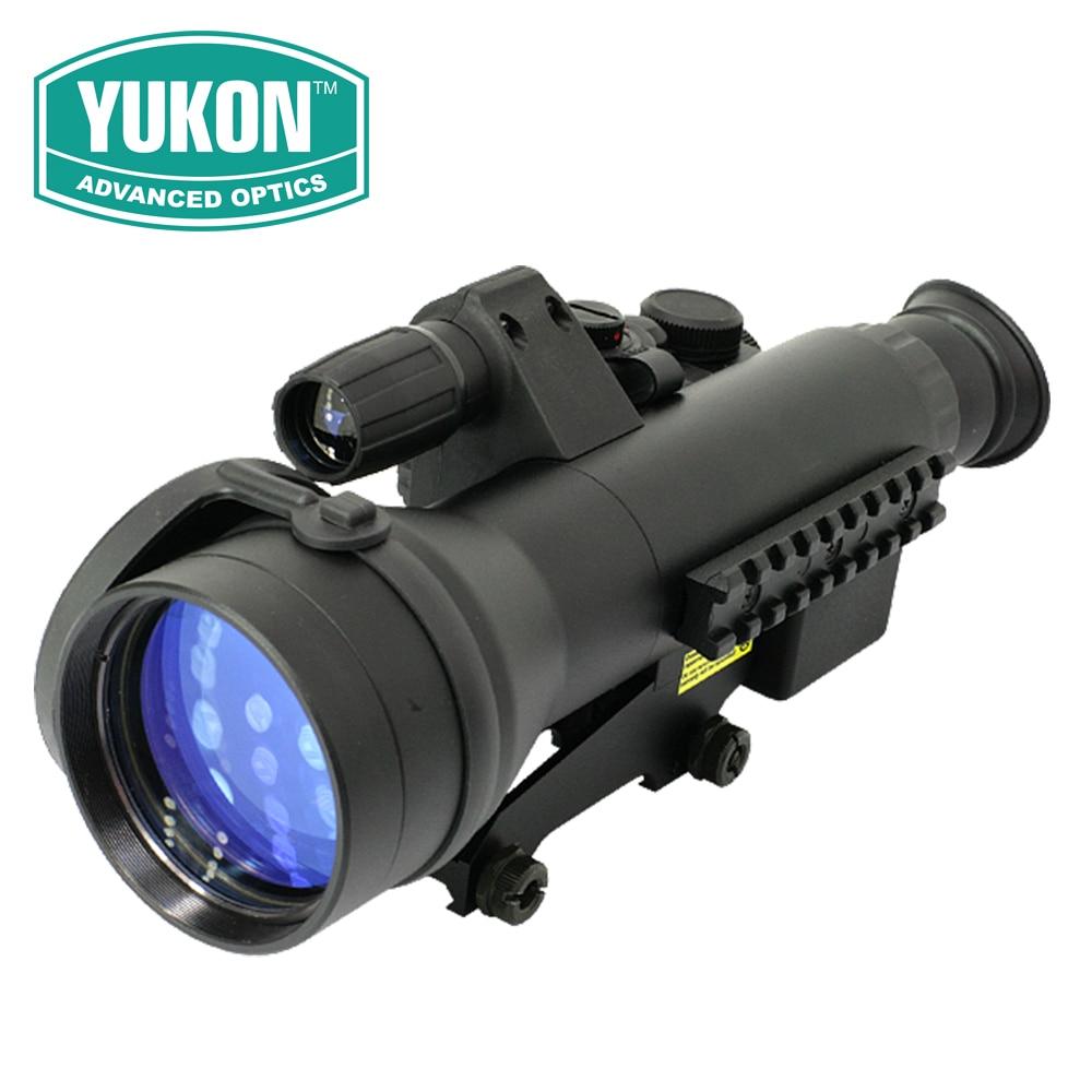 Yukon Tube-based NV Riflescopes Sentinel 3x60 Generation-1 IR Monocular Tactical Hunting Night Vision Rifle Scope 26016T original yukon 26016t nvrs sentinel 3x60 night vision scope for hunting night vision goggles infrared goggles