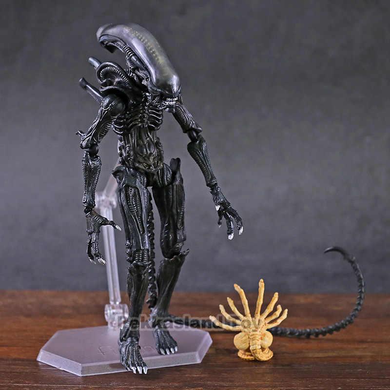 FIGMA SP-108 Alien/SP-109 Predator Takayuki Takeya Versi Tindakan Sosok Figurine Mainan