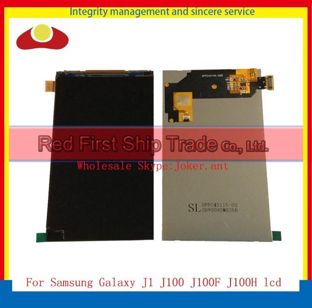 """Alta qualidade 4.3 """"para samsung galaxy j1 j100 j100h j100f display lcd tela frete grátis + código de rastreamento"""