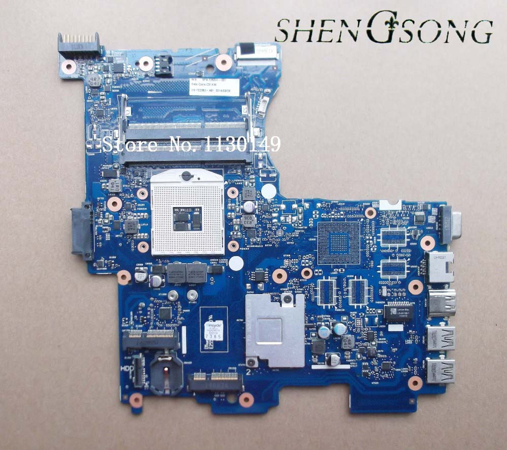 725241-501 725241-601 Free shipping 725241-001 motherboard for HP M4 242-G1 Integrated Notebook 6050A2545601 100%Tested 574680 001 1gb system board fit hp pavilion dv7 3089nr dv7 3000 series notebook pc motherboard 100% working