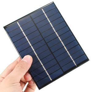 Image 3 - CLAITE 12V 2W 160mA Polycrystalline silicon Mini Solar Panel module Cell  For Charger DC Battery DIY 136x110mm Quality Wholesale