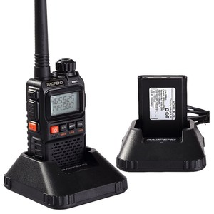 Image 5 - 2 PCS Baofeng UV 3R Plus Mini Walkie Talkie Ham Two Way VHF UHF Radio Station Transceiver Boafeng Scanner Portable Walkie Talkie