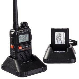 Image 5 - 2 PCS Baofeng UV 3R Plus Mini Walkie Talkie Schinken Zwei Way VHF UHF Radio Station Transceiver Boafeng Scanner Tragbare Walkie Talkie