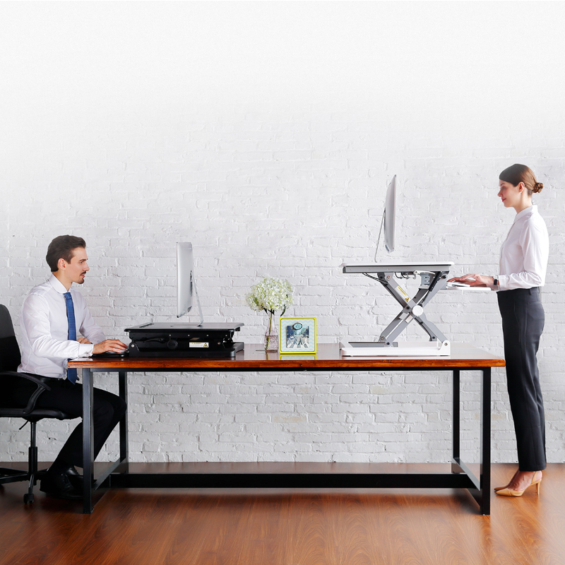 Laricare pro office table multifunction ergonomic height adjustable computer stand.pc tablet laptop TV desk,support many devices