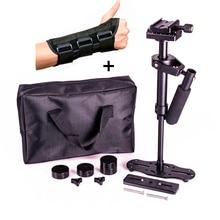 DSLR S40 5D2 Professional handheld Camera stabilizer  rig DSLRsteadicam  video steadycam glidecam with hand protective brace