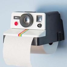 купить Creative Tissue Storage Retro Cute Camera Shaped Roll Tissue Holder Box   14 x 17 x 10cm Toilet Paper Cover дешево
