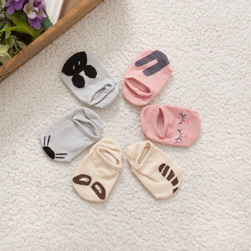Lovely Baby Socks Newborn Toddler Infant Slip-resistant Low Cut Short Footsocks Cute 0-4 years Baby Boys Girls Anklet Boat Socks