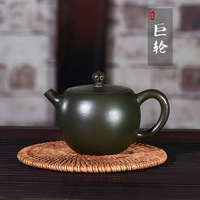 Kettle Yixing Dark red Enameled Pottery Teapot Famous Full Manual Customized Manufactor Wholesale Tiny The Shang Dynasty Hair