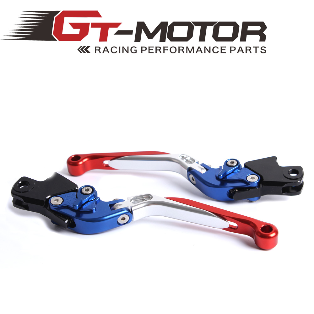 GT Motor - B-1 B-2 Adjustable CNC 3D Extendable Folding Brake Clutch Levers For BMW R1200R R1200S R1200ST R1200GS K1300S/R/GT adjustable folding extendable brake clutch levers for bmw k1300 s r gt k1600 gt gtl k1200r sport r1200gs adventure 8 colors