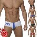 2016 новый U выпуклая мода мужская малоэтажных трусы талии Сексуальные Купальники для гея профессиональный beach water стволы