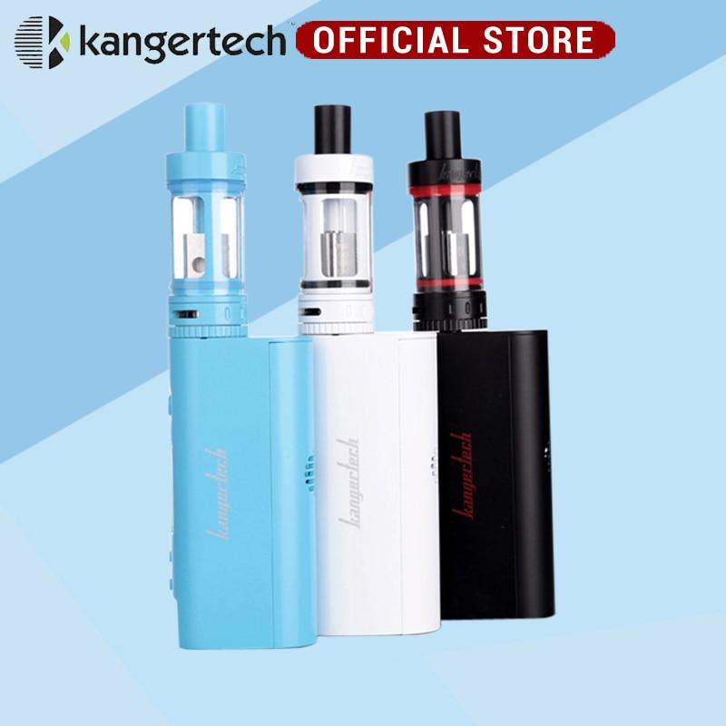 New  Kanger Subox Mini Starter kit 50W 0.3ohm Kangertech Subtank Mini Atomizer Kbox Mini Battery Free Shipping mini kp box 80w starter kit