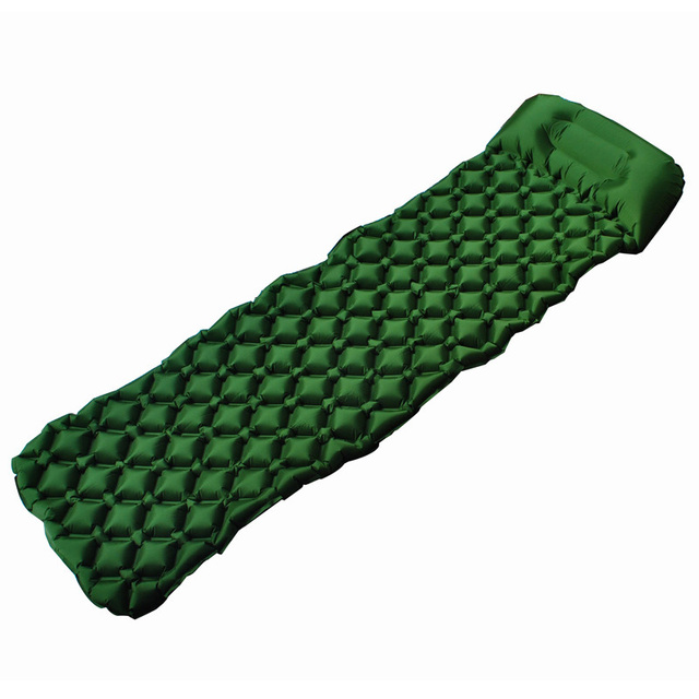 Inflatable Sleeping Pad Camping Mat With Pillow air mattress Cushion Sleeping Bag air sofas inflatable sofaFor Autumn