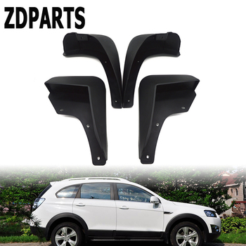 ZDPARTS Car Front Rear Mudguards For Chevrolet/Holden Captiva 7 CG 2006 2007 2008 2009 2010 2012 2013 2014 2015 Accessories