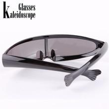 Kaleidoscope Glasses XMen Personality Sunglasses Laser Glasses Men Women Sunglass Robots Sun Glasses Men's Driving Goggles