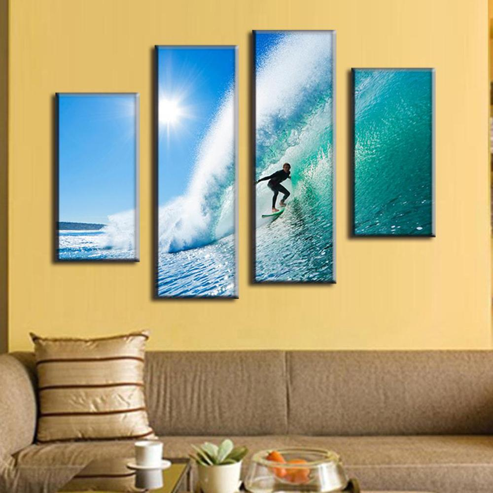Nice Surf Wall Decor Picture Collection - All About Wallart ...