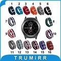20mm pulseira de nylon para samsung gear s2 classic (SM-R732 & SM-R735) tecido Faixa de Relógio NATO Strap Colorido Pulseira De Pulso + Ferramenta