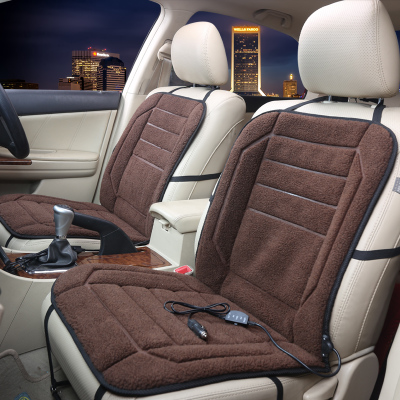 12V Heated Car Seat Cushion Cover Winter Covers Heater Warmer Single Cus In Automobiles From