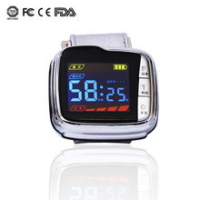 650nm low level laser therapy wrist watch semiconductor for Blood clean/Decreases blood viscosity