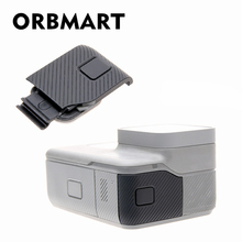ORBMART Side Cover Door Case Replacement USB C Micro HDMI Port Protector Substitution For Gopro Hero 5 6 7 black Original Camera