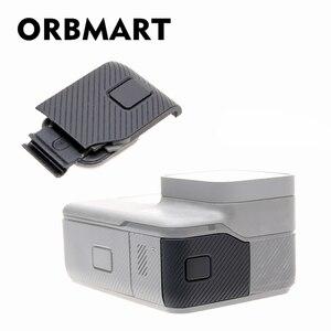 Image 1 - ORBMART צד כיסוי דלת מקרה החלפת USB C מיקרו HDMI יציאת מגן שחילוף Gopro גיבור 5 6 7 שחור מקורי מצלמה