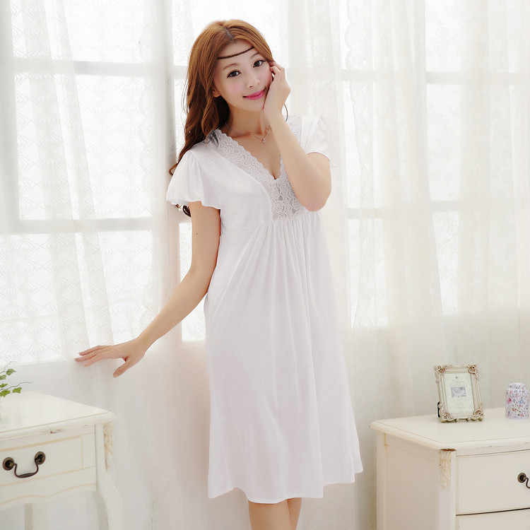 1ed6ea0695 ... 2015 summer style Noble sexy women s laciness lace royal spaghetti  strap viscose long design nightgown ...