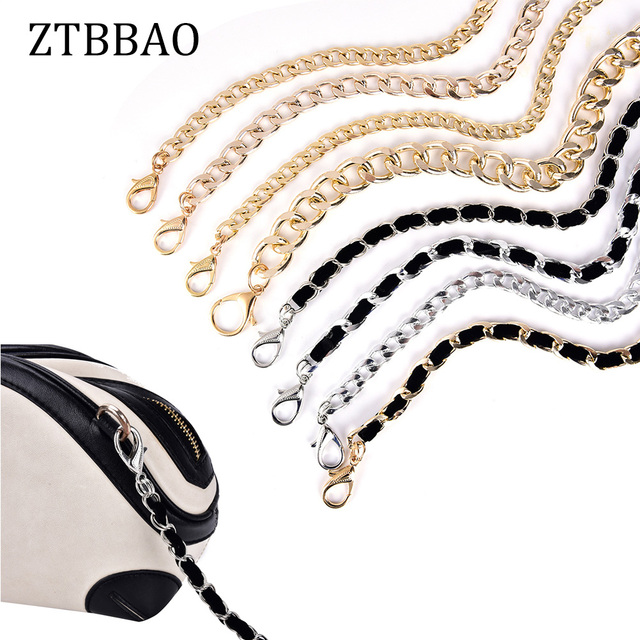 120cm Shoulder Bag Straps Metal Diy Chain Strap Handbags Accessories Parts Replacement Snake