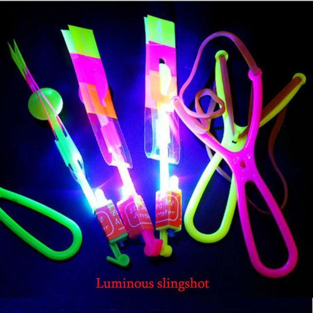 Special Flying  Slingshot Light Toy