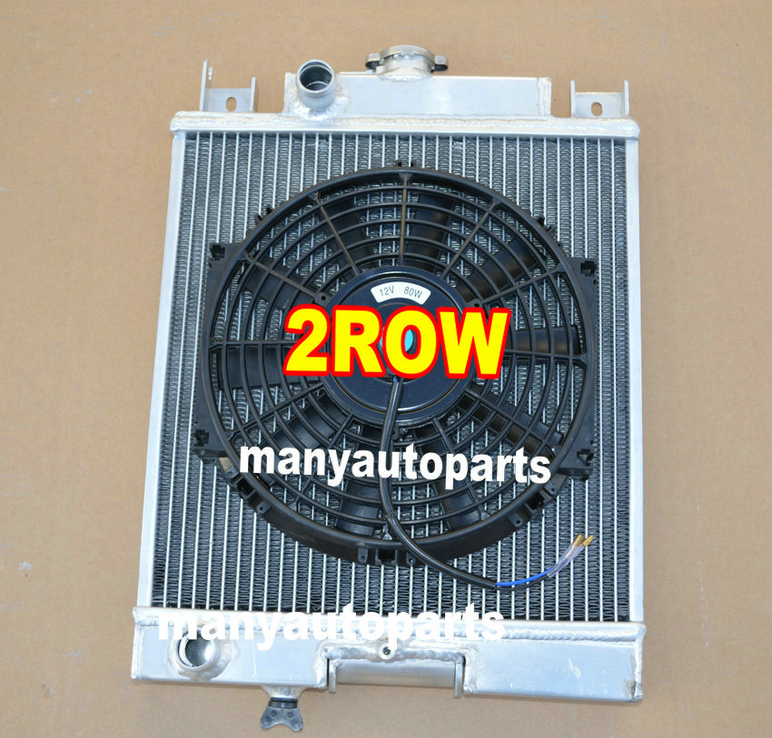 US $108 0 |For Suzuki Swift GTI Aluminum Radiator 1989 1994 + Fan 89 90 91  92 93 94-in Engine Cooling & Accessories from Automobiles & Motorcycles on