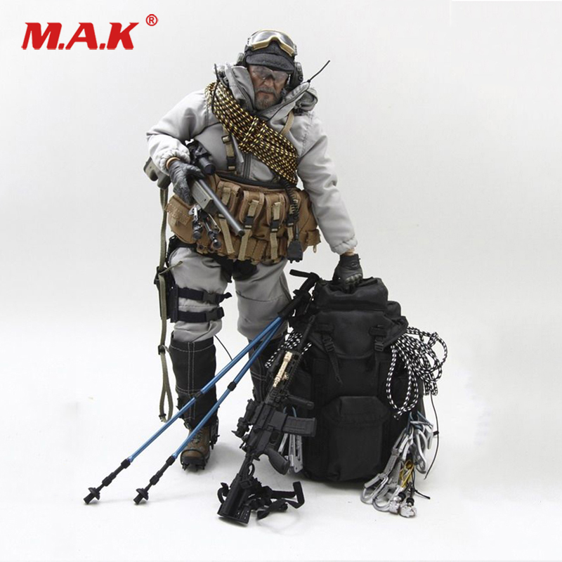 1 6 Scale Mlae Clothes 1046-G Special Forces Mountain OPS PCU Sniper  Clothing Set fit 12