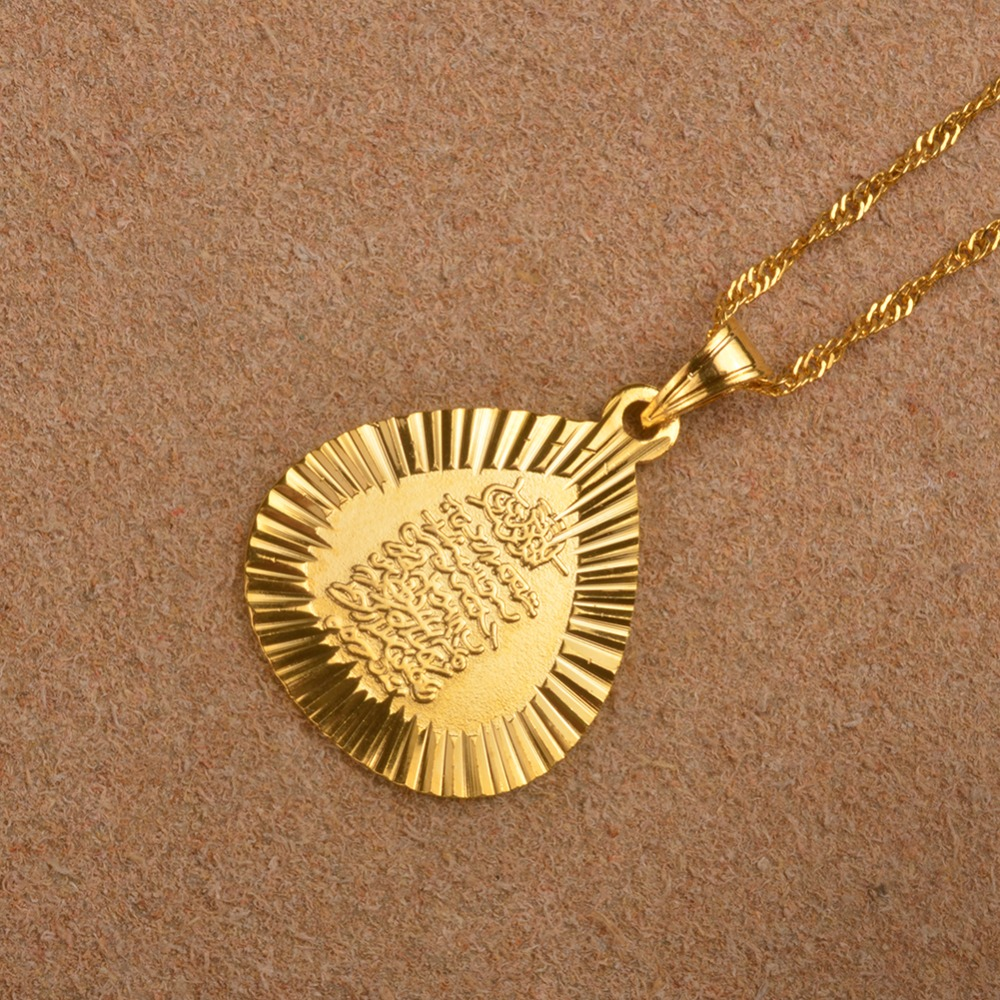 color eastern s women gold anniyo necklace pendant girls itm coins by jewelry arab metal charms new for coin middle