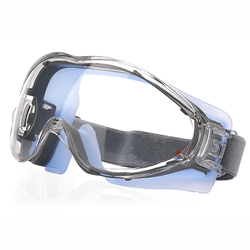 Transparent Safety Goggles Windproof & Shockproof Tactical Glasses Riding Bicycle Anti-dust Industrial Labor Protection Glasses wanke wk 11 outdoor motorcycle riding cool windproof goggles black transparent