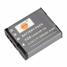 DSTE NP-130 Перезаряжаемые Батарея для объектива с оптическими зумом Casio EX-H30 ZR100 ZR200 ZR300 ZR400 ZR410 ZR700 ZR1000 ZR1200 ZR3700 Камера