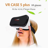 VR Virtual Reality 3D Glasses Google Cardboard VR CASE 5 Plus Pro Smart Wireless Bluetooth Mouse