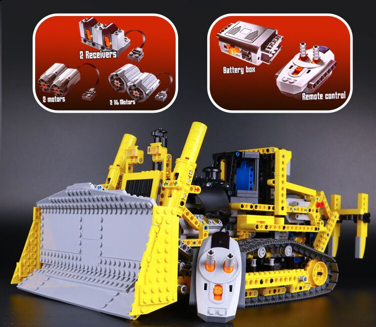 NEW LEPIN 20008 technic series 1384pcs the bulldozer Model Building blocks Bricks kits Compatible 8275 boy brithday gifts free shipping new vehicle blocks camion bulldozer export t